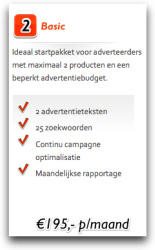 Adwords pakket 2